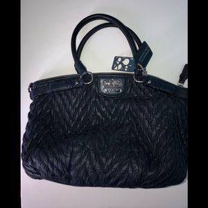 Navy Coach handbag